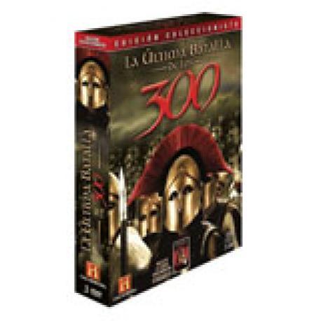 La última batalla de los 300 + Esparta. Código de honor. Mareas de guerra. 2 DVD