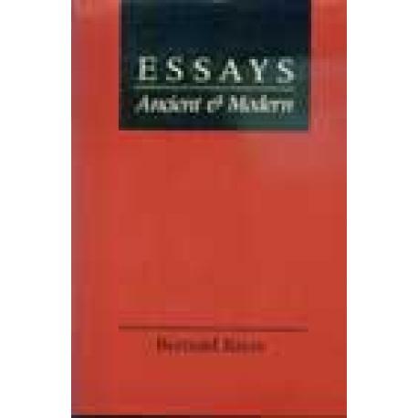 Essays Ancient & Modern