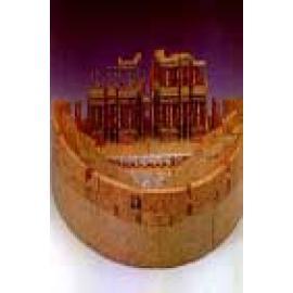 Teatro romano de Mérida. Recortable (Dificultad: Media) - Imagen 1