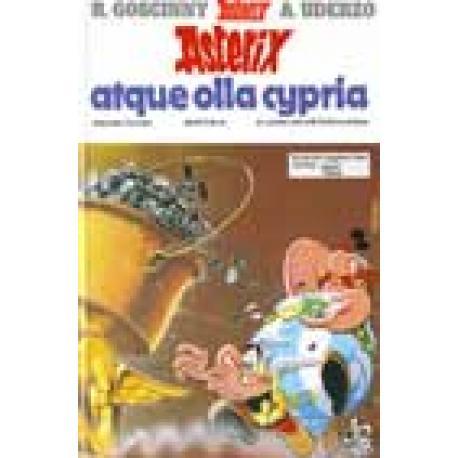 Asterix Atque Olla Cypria. Edición en latín. Dibujos