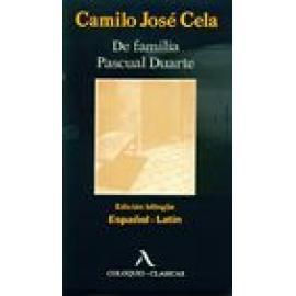 De familia Pascual Duarte. Edición bilingüe español-latín - Imagen 1