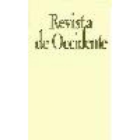 Revista de Occidente 132.