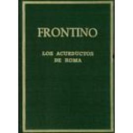 Los acueductos de Roma. (De aquaeductus urbis Romae) - Imagen 1