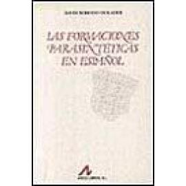 Las formaciones parasintéticas en español. - Imagen 1