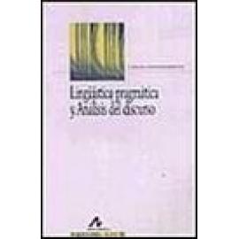 Lingüística pragmática y Análisis del discurso. - Imagen 1
