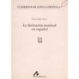 La Derivación Nominal en Español. - Imagen 1