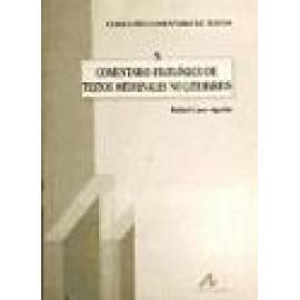Comentario filológico de textos medievales no literarios. - Imagen 1