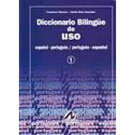Diccionario bilingüe de uso. Español-portugués / português-espanhol. 2 tomos. - Imagen 1