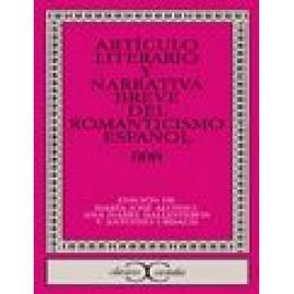 Artículo literario y narrativa breve del Romanticismo español - Imagen 1