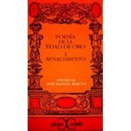 Poesia de la Edad de Oro Vol I: Renacimiento - Imagen 1