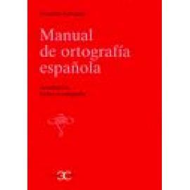 Manual de Ortografía española - Imagen 1