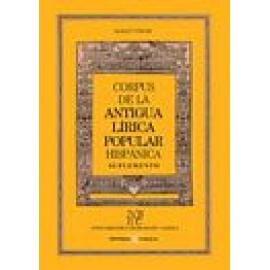 Corpus de la antigua lírica. Suplemento - Imagen 1