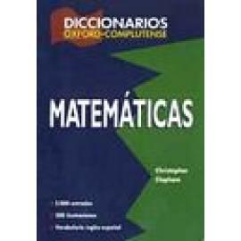 Diccionario de Matemáticas. - Imagen 1