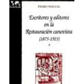 Escritores y editores en la Restauración Canovista (1875-1923). - Imagen 1