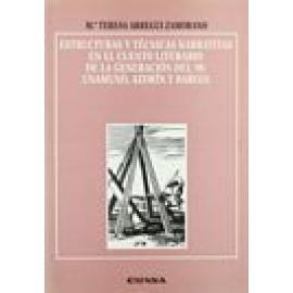 Estructuras y técnicas narrativas en el cuento literario de la generación del 98: Unamuno, Azorín y Baroja. - Imagen 1