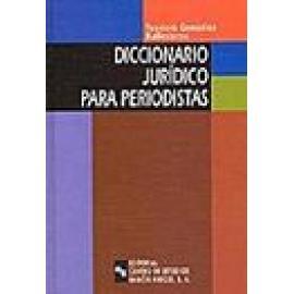 Diccionario jurídico para periodistas - Imagen 1