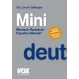 Diccionario mini Deut-esp/Esp-Al. - Imagen 1