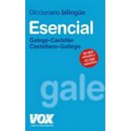 Diccionario esencial Galego-Castelán/Castellano-Gallego. - Imagen 1