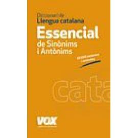 Diccionari essencial de sinònims y antònims de la llengua catalana - Imagen 1