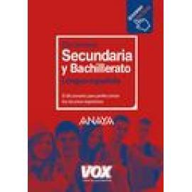 Diccionario de secundaria y bachillerato de la lengua española - Imagen 1