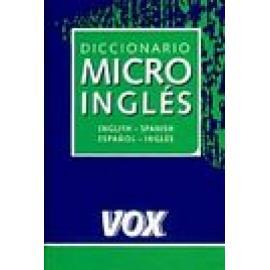 Diccionario micro English-Spanish/Español- Inglés. - Imagen 1