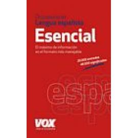 Diccionario esencial de la lengua española. - Imagen 1
