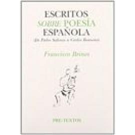 Escritos sobre poesía española. (De Pedro Salinas a Carlos Bousoño) - Imagen 1