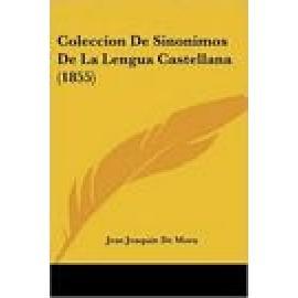 Colección de Sinónimos de la lengua castellana. - Imagen 1