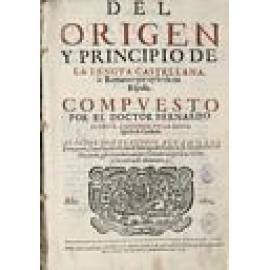 Del origen y principio de la lengua castellana. - Imagen 1
