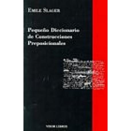 Pequeño diccionario de construcciones preposicionales