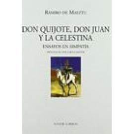 Don Quijote, Don Juan y La Celestina. Ensayos en simpatía - Imagen 1