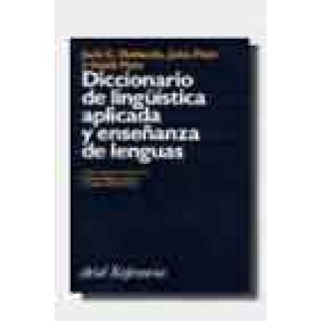 Diccionario de lingüistica aplicada y enseñanza de lenguas