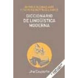 Diccionario de lingüistica moderna - Imagen 1