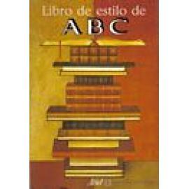 Libro de estilo de ABC. - Imagen 1