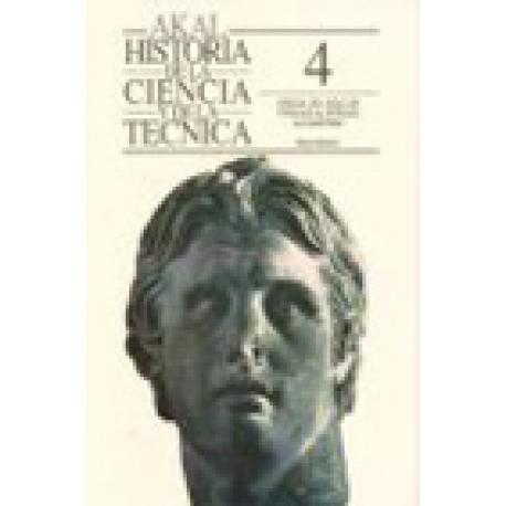 Historia de la Ciencia y de la Técnica IV: Grecia. Del siglo de Pericles al período alejandrino