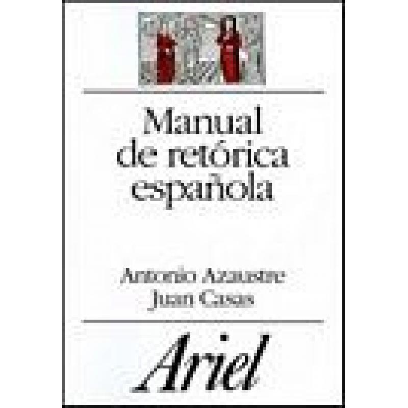 9788424911430: manual de retorica literaria / handbook of literary.