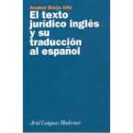 El texto jurídico inglés y su traducción al español - Imagen 1