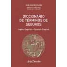 Diccionario de Términos de Seguros (inglés-español, español-inglés). - Imagen 1