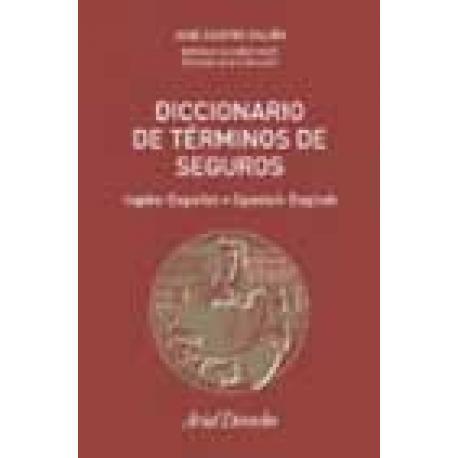 Diccionario de Términos de Seguros (inglés-español, español-inglés).