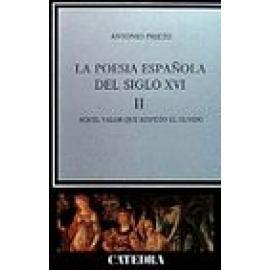 La poesía española en el siglo XVI. Vol II - Imagen 1