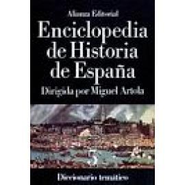 Enciclopedia de Historia de España (VI) Cronología. Mapas. Estadísticas. - Imagen 1