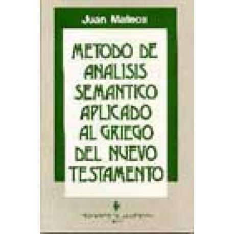Método de análisis semántico aplicado al griego del Nuevo Testamento