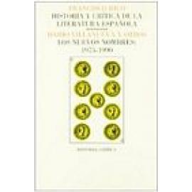 Historia y crítica de la literatura española. Vol IX. Los nuevos nombres: 1975-1990. - Imagen 1