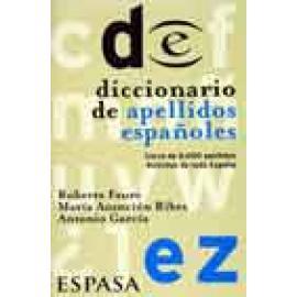 Diccionario de apellidos españoles - Imagen 1