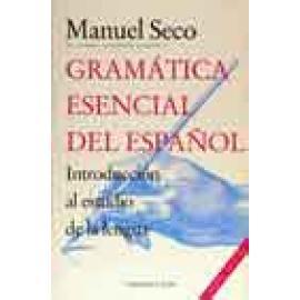 Gramática esencial del español. Introducción al estudio de la lengua - Imagen 1