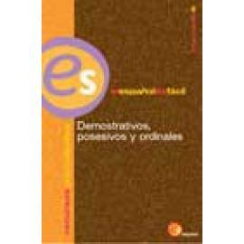 Demostrativos, posesivos y ordinales - Imagen 1