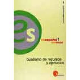 Es español 1 Cuaderno de Recursos y Ejercicios +CD Audio. Edición inglesa. - Imagen 1