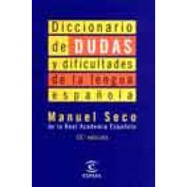 Diccionario de dudas y dificultades de la lengua española - Imagen 1