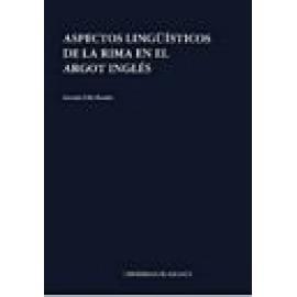 Aspectos lingüísticos de la rima en el argot inglés (2ª edición). - Imagen 1