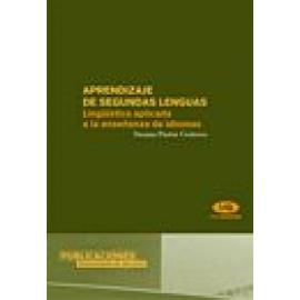 Aprendizaje de segundas lenguas. Lingüística aplicada a la enseñanza de idiomas. - Imagen 1
